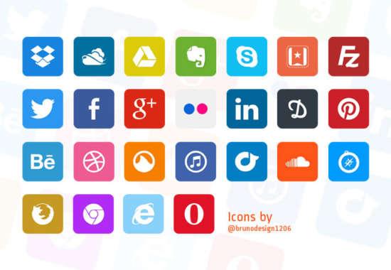 flat_social_icons_psd