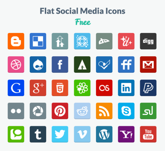 flat_social_square_icons_psd