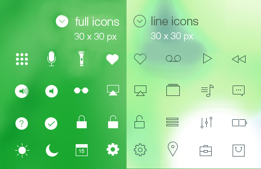 line_&_full_ios7_icons_psd