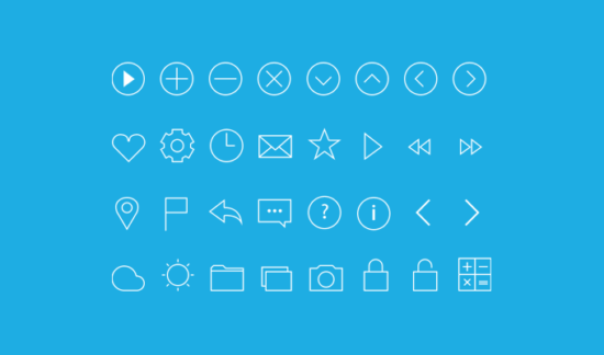 line_icons_psd