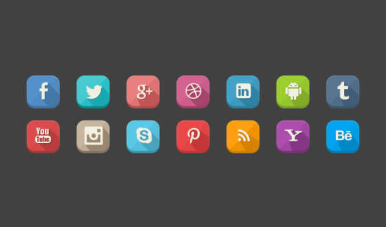 long_shadow_social_icons_psd