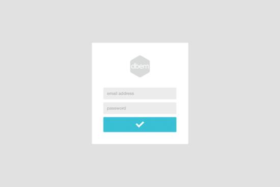 minimal_login_form_psd