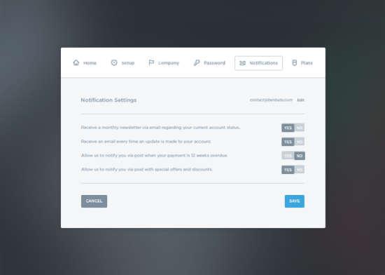 settings_panel_ui_kit_psd