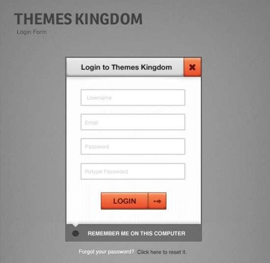 simple_login_form_psd