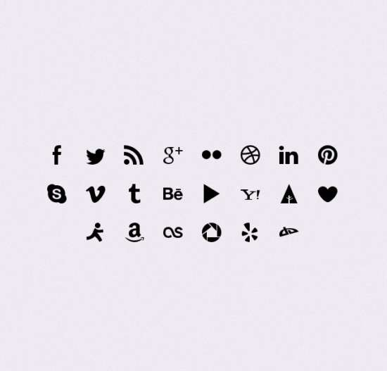 simple_social_icons_psd