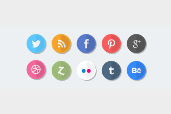 flat_round_social_icons_psd