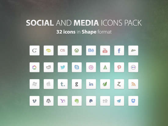 social_and_media_icons_set_psd