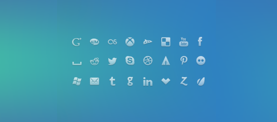 social_network_icons_psd