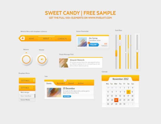 sweet_candy_ui_kit_psd