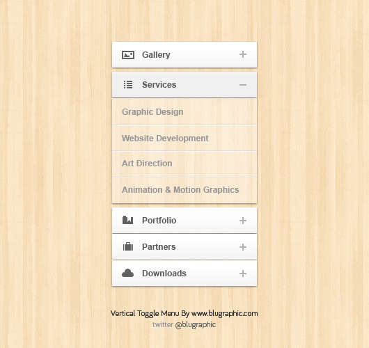 vertical_toggle_menu_with_opacity_psd