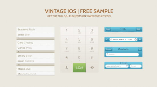 vintage_ios_ui_kit_psd