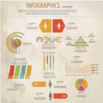 free-vector-retro-style-world-map-infographic-design-elements