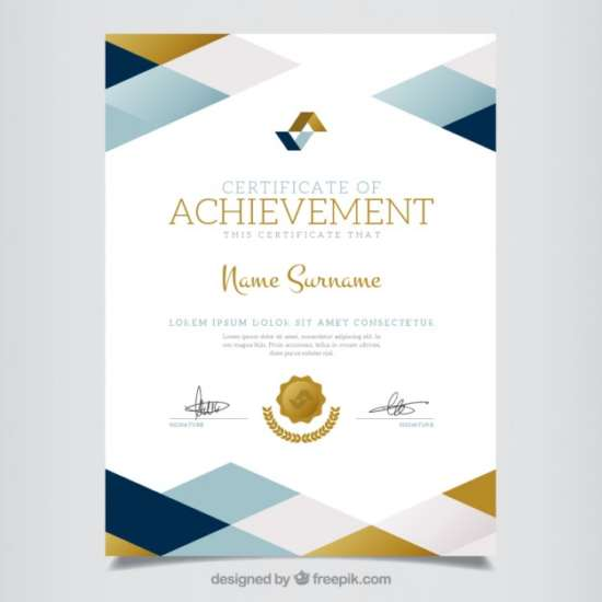 geometric_certificate_of_achievement