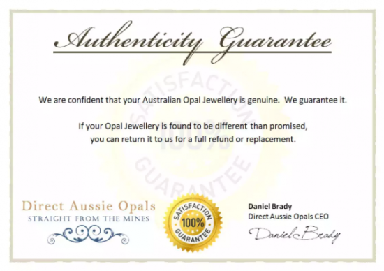 Certificate of Authenticity Template by marketinghub