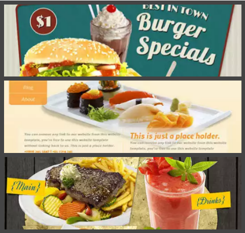 30 free html css restaurant website templates delicious xdesigns