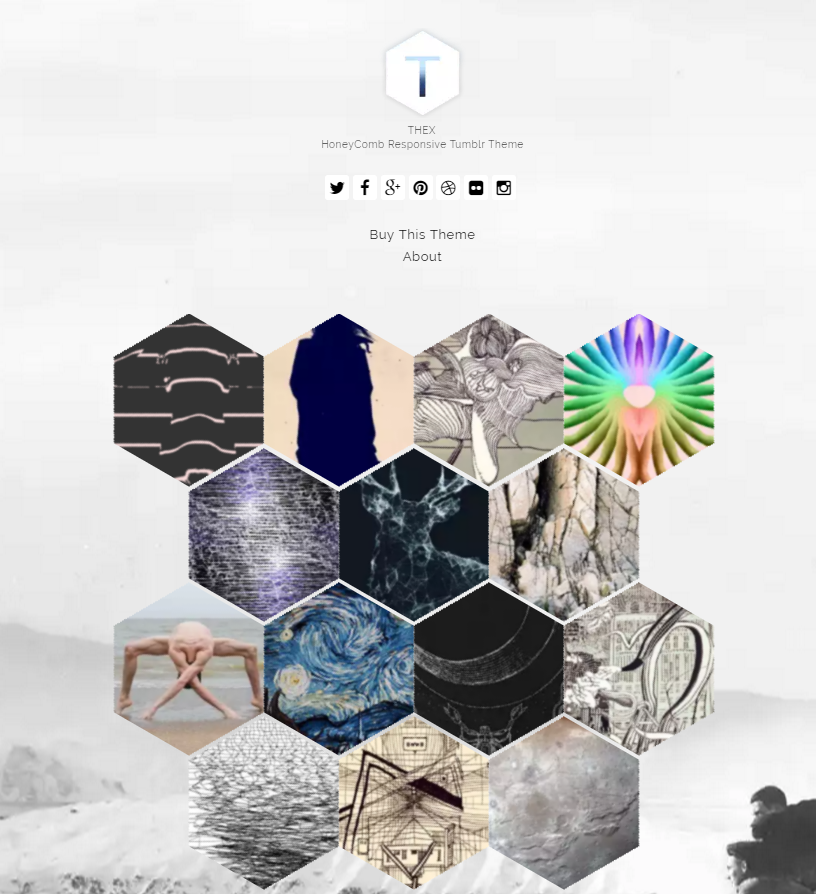 Thex HoneyComb Tumblr Theme