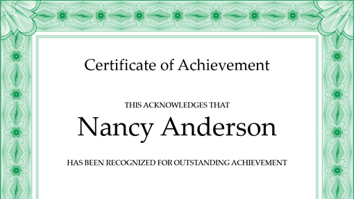 certificate_of_achievement_(green)