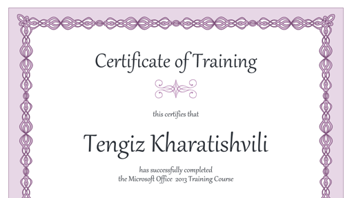 certificate_of_training_(purple_chain_design)