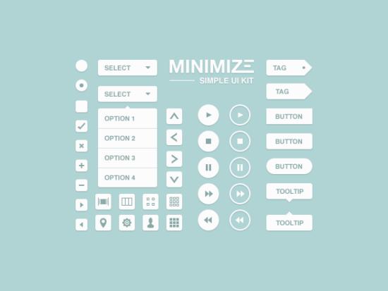 minimize_minimal_ui_kit_psd