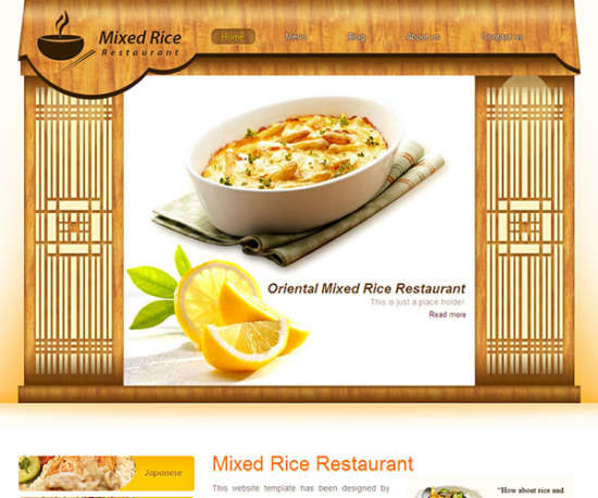 rice_restaurant_web_template