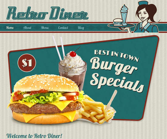 retro_diner_website_template