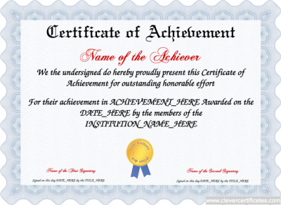 achievement_certificate_template