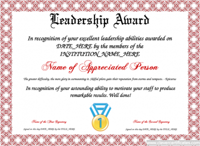 leadership_award_template