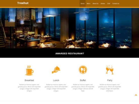 free_bootstrap_template_restaurant_website_treehut