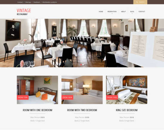 vintage_restaurant_flat_bootstrap_responsive_web_template