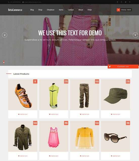 betacommerce_ecommerce_blogger_template_screenshot