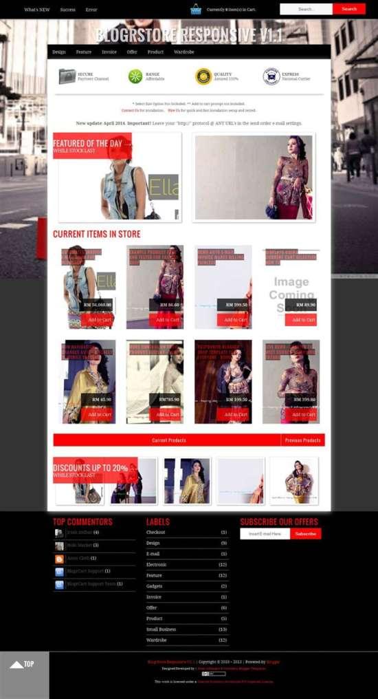 blogerstore_blogger_template_screenshot