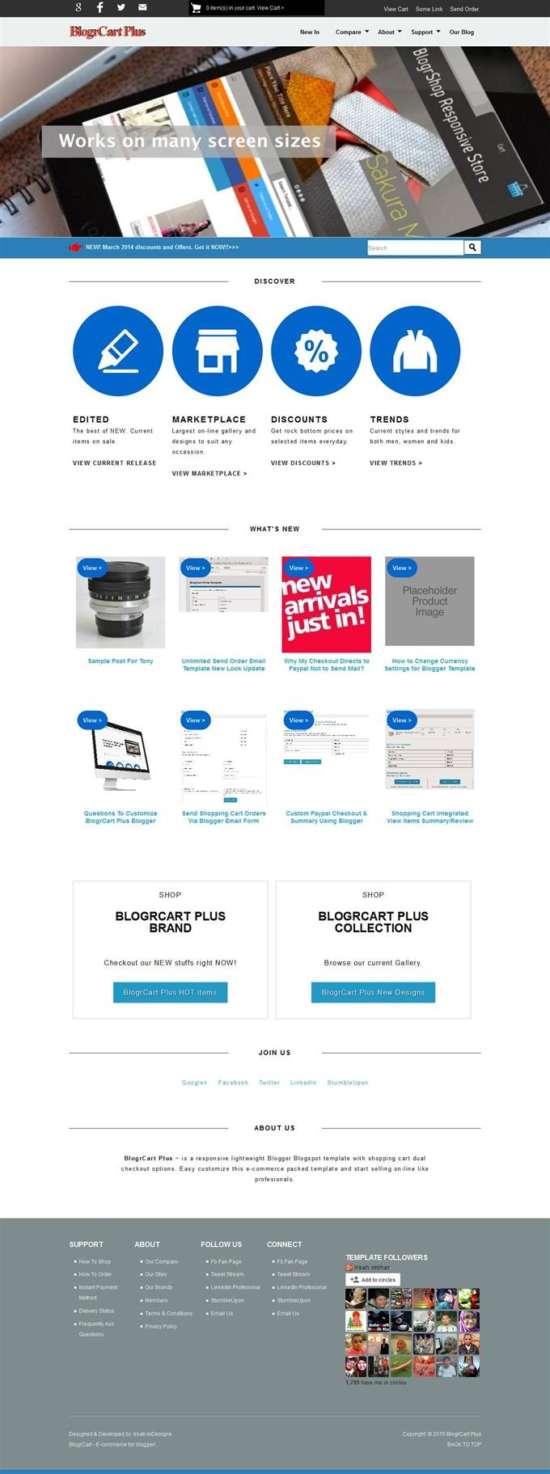 blogr_cart_plus_e_commerce_theme_screenshot