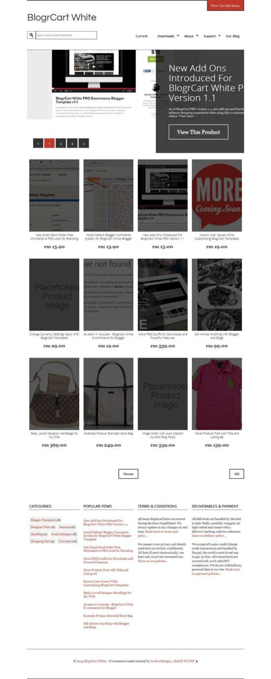 blogrcart_shopping_blogger_templates_screenshot