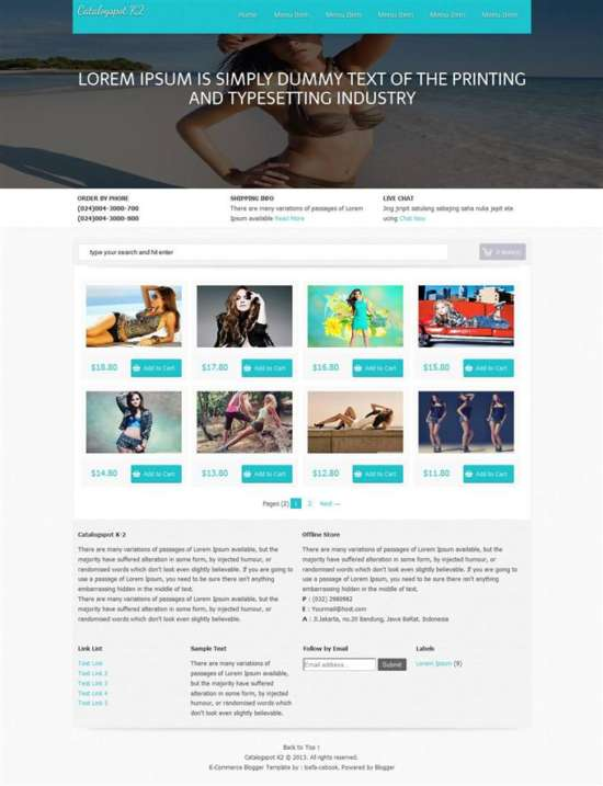 catalogspot_k2_e_commerce_blogger_template_screenshot