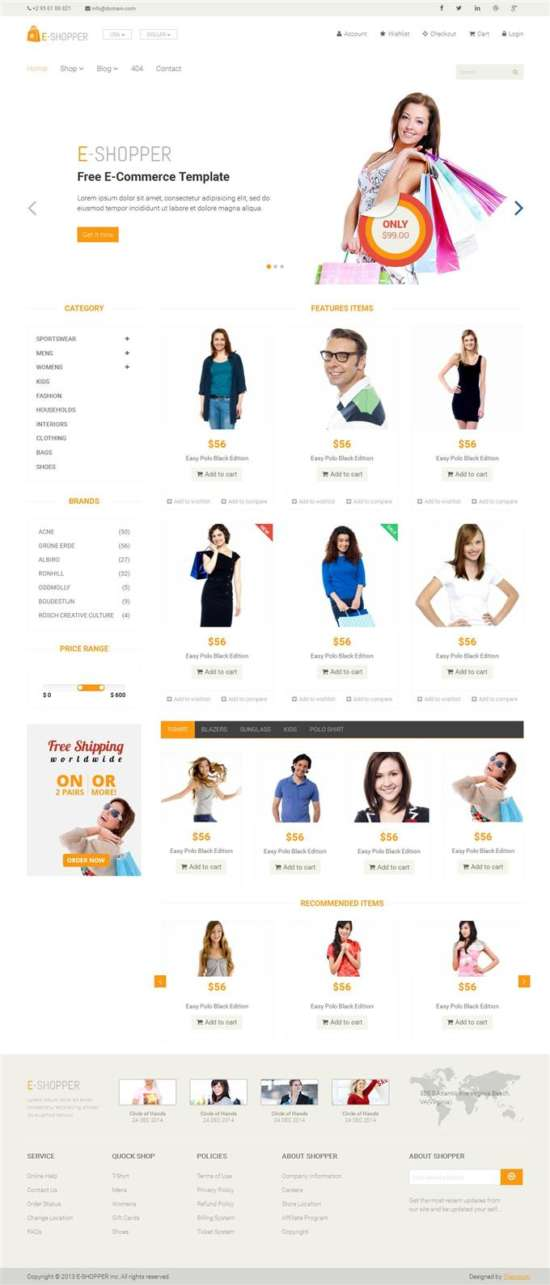 e_shopper_ecommerce_blogger_template_screenshot