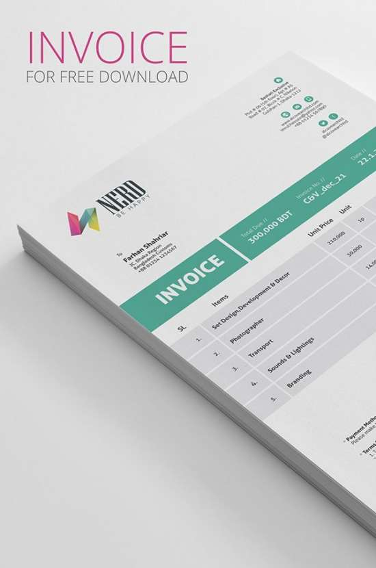 invoice_psd_mockup_screenshot