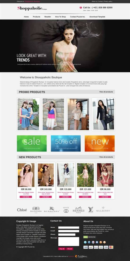 shopaholic_boutique_responsive_e_shopping_blogger_template_screenshot