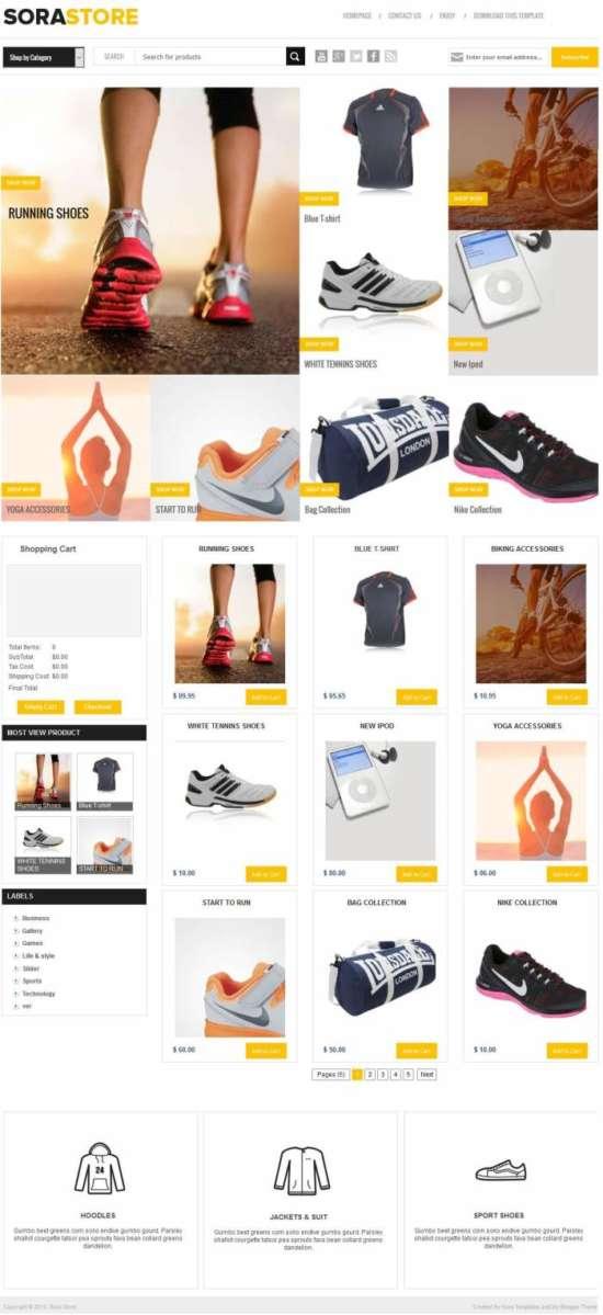 sora_store_blogger_template_screenshot