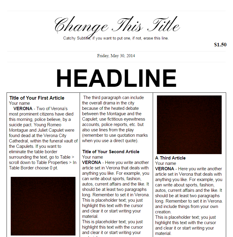 18 Print Ready Newspaper Templates Docx Psd Ai Xdesigns