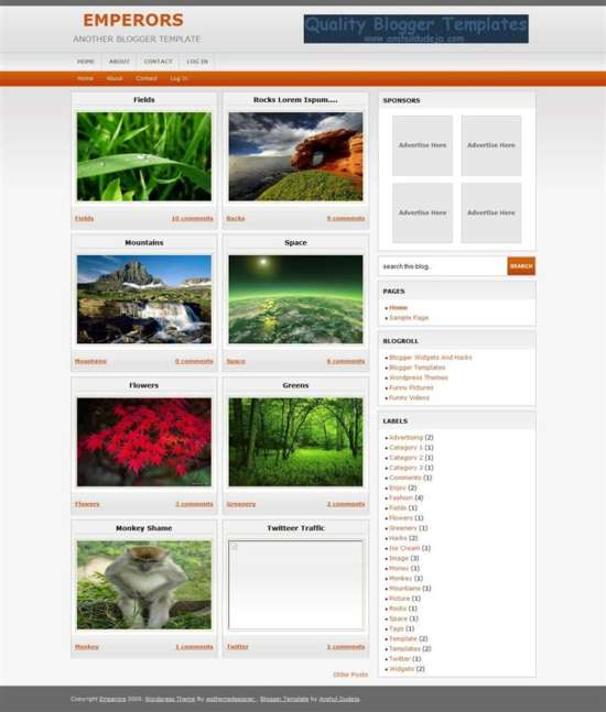 emperors_photography_blogger_template_screenshot