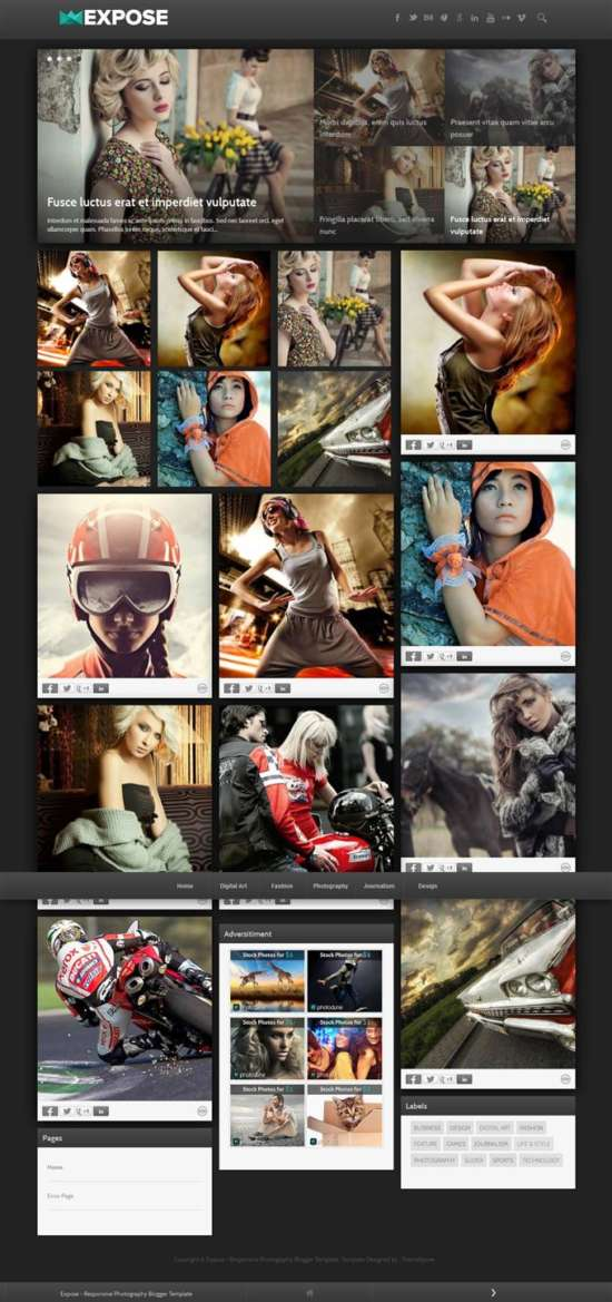 expose_responsive_blogger_template_screenshot