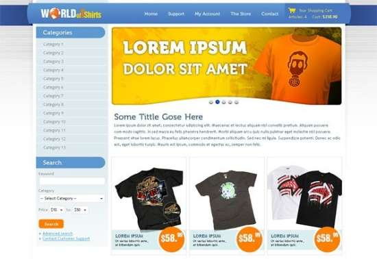 world_of_tshirts_free_ecommerce_website_css_template_for_tshirts