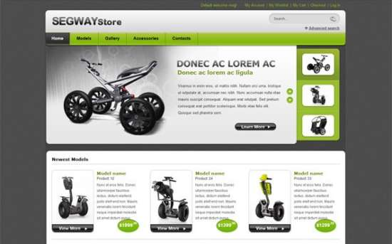 segway_store_website_css_template