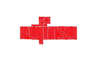 Fujitsu logo design
