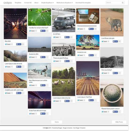grid_pin_photography_free_blogger_template_screenshot