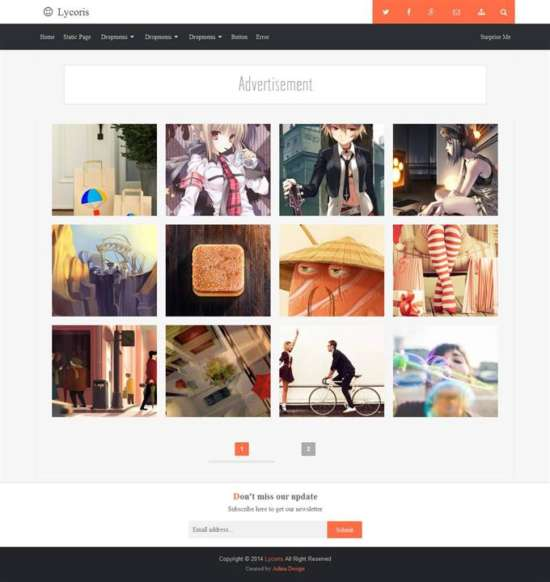 lycoris_blogger_template_screenshot