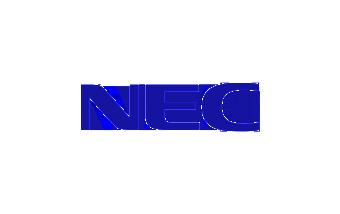 NEC logo design