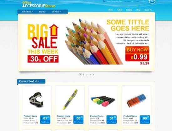 ecommerce_website_css_template_for_office_supplies_and_equipment