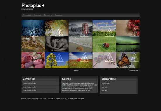photoplus_blogger_template_screenshot