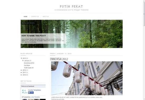 putih_pekat_blogger_template_screenshot